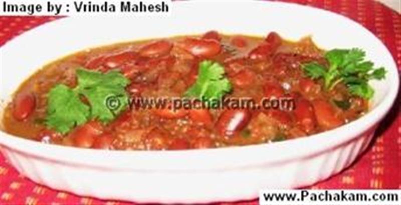 Kerala Style Rajma Curry