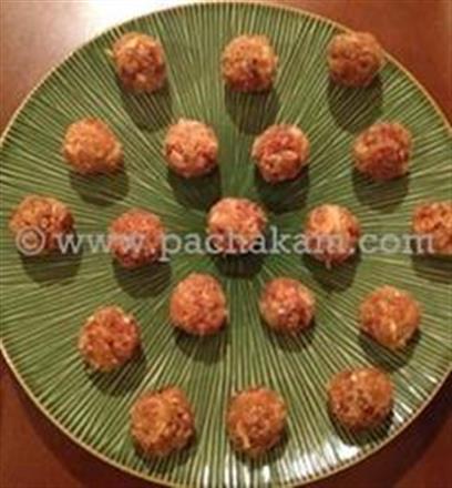 Coconut Macaroons-Coconut Laddoos-Narikel Naru