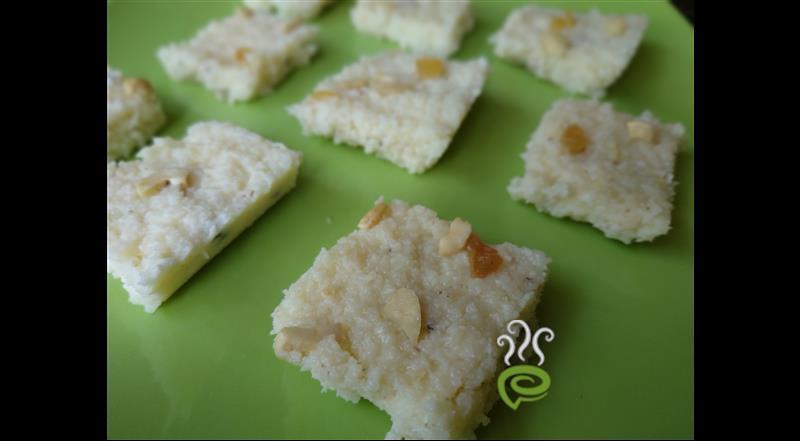 Coconut Burfi Recipe With Milk Powder.