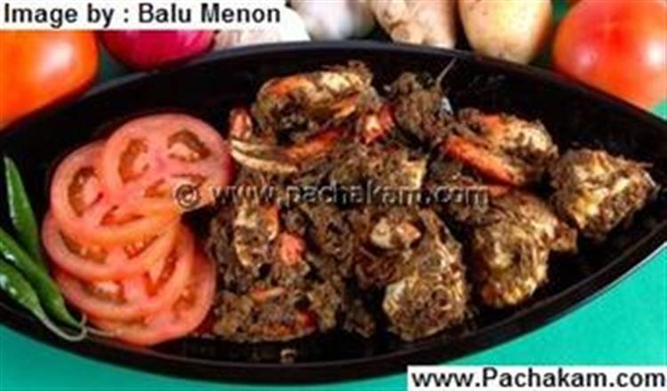 Crab Dry Fry Recipe Pachakam Com