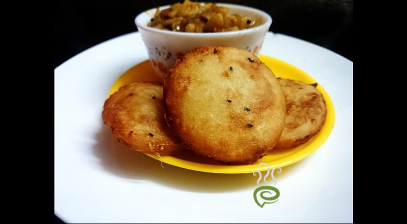 Fried Ginger Garlic Pathiri
