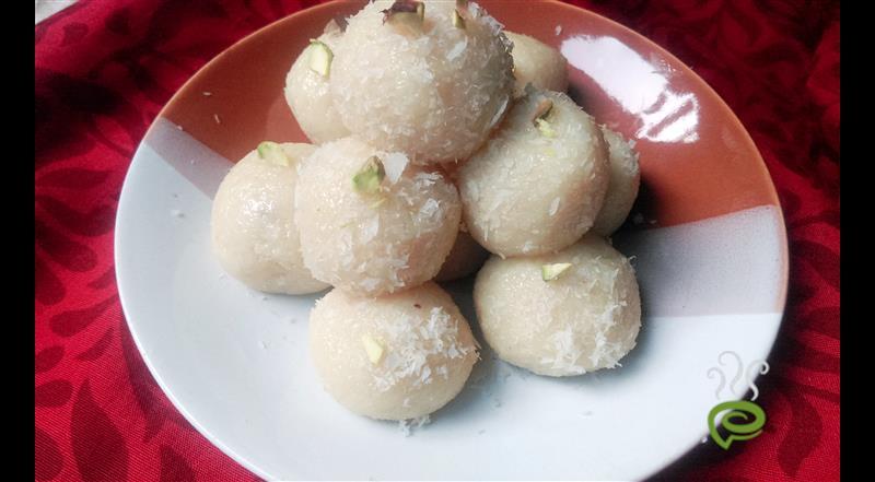Milk Powder Coconut Ladoo