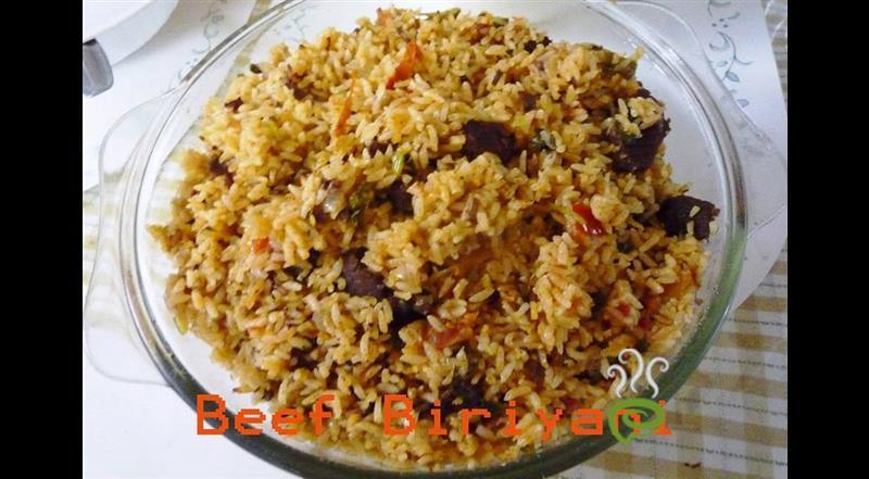 Easy Beef Biriyani