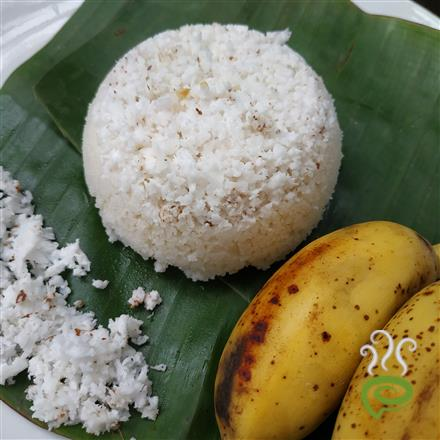 Puttu With Leftover Cooked Rice