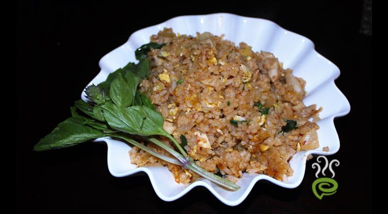 Thai Basil Chicken Fried Rice Video