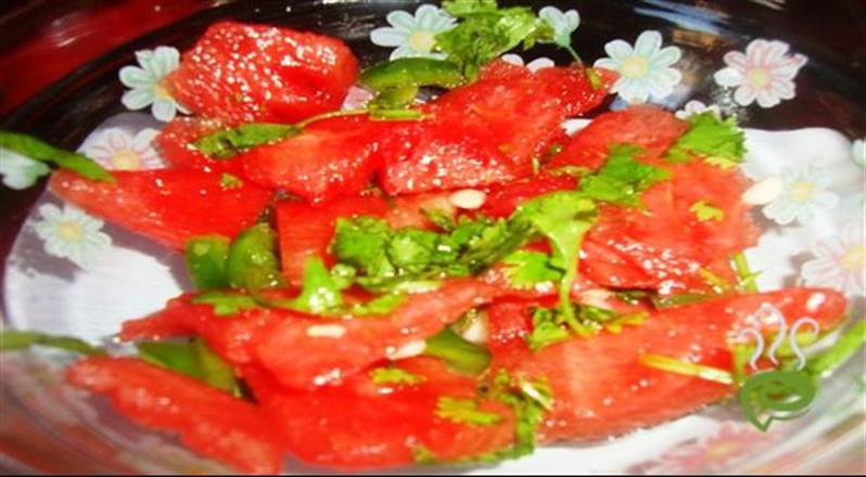 Watermelon Ice And Fire Salad