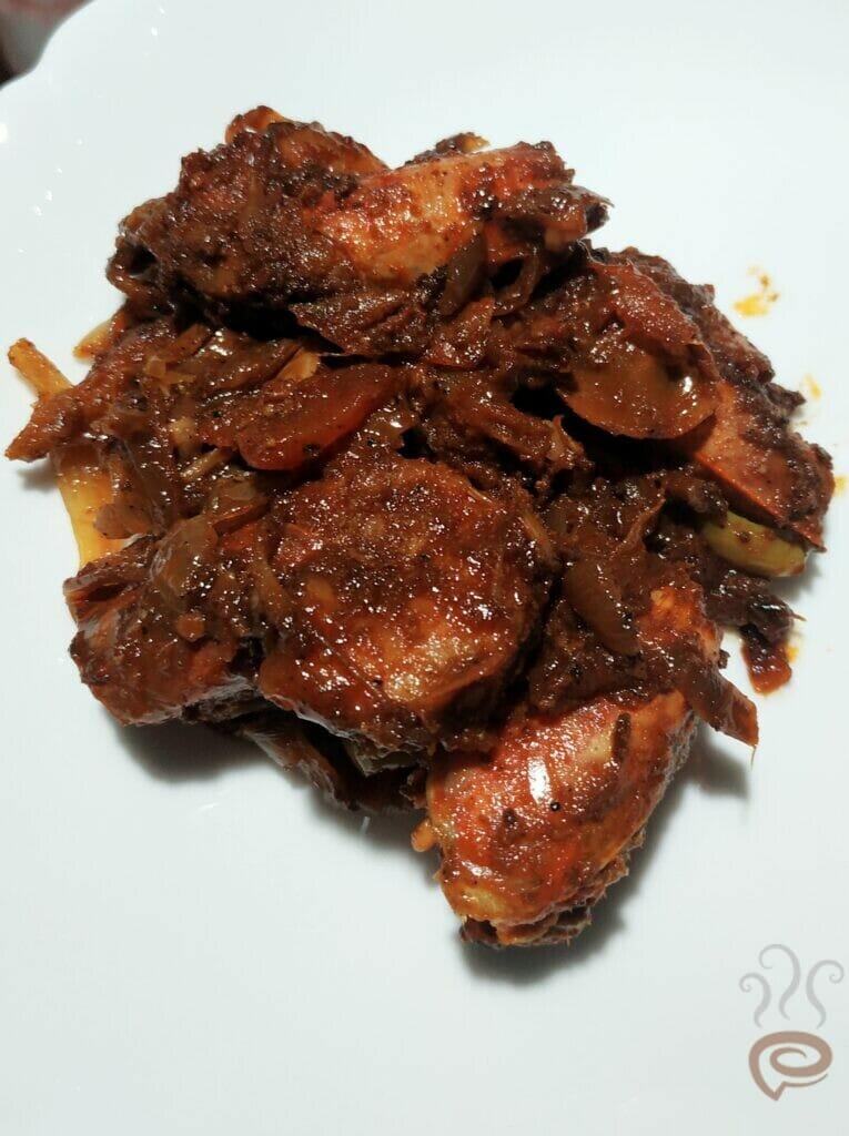 Malabar Special Chemmeen Roast   Prawn Roast
