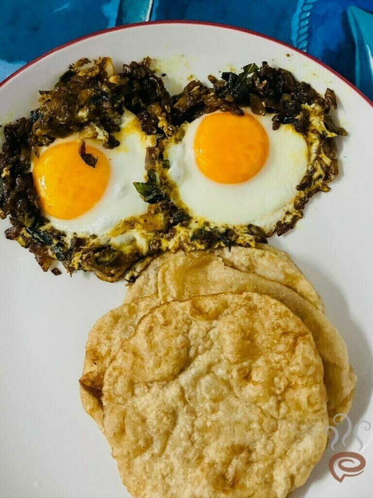 Bull's Eye Egg Masala | Bull's Eye Egg Roast
